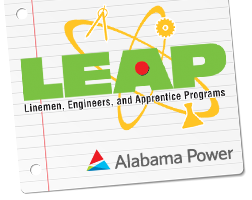 LEAP: Learning Engineering and Applying Principles. By Alabama Power.